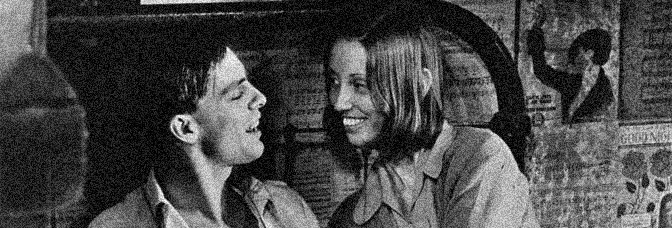Keith Carradine and Shelley Duvall star in THIEVES LIKE US, directed by Robert Altman for United Artists.