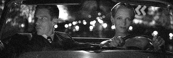 Ethan Hawke and Uma Thurman star in GATTACA, directed by Andrew Niccol for Columbia Pictures.