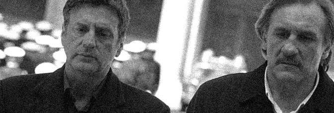 Daniel Auteuil and Gerard Depardieu star in 36 QUAI DES ORFÈVRES, directed by Olivier Marchal for Gaumont.