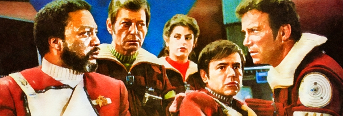 Star Trek II: The Wrath of Khan (1982, Nicholas Meyer), the director's edition