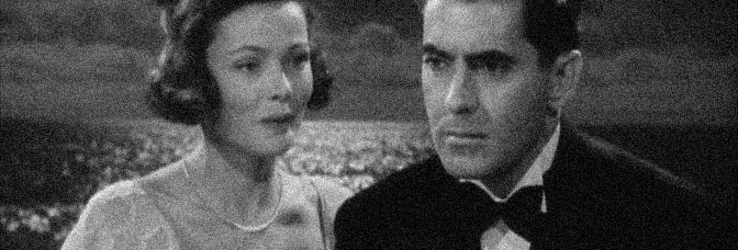 Gene Tierney and Tyrone Power star in THE RAZOR'S EDGE, directed by Edmund Goulding for 20th Century Fox.