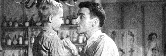 Ivan Jandl and Montgomery Clift star in THE SEARCH, directed by Fred Zinnemann for Metro-Goldwyn-Mayer.