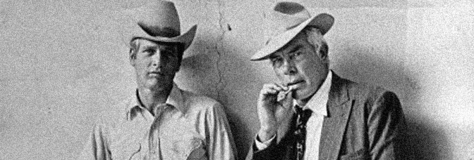 Paul Newman and Lee Marvin star in POCKET MONEY, directed by Stuart Rosenberg for National General Pictures.