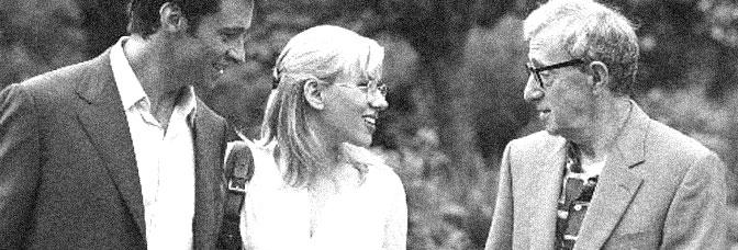 Hugh Jackman, Scarlett Johansson, and Woody Allen star in SCOOP, directed by Woody Allen for Focus Features.