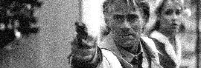 Tim Thomerson and Helen Hunt star in TRANCERS, directed by Charles Band for Empire Pictures.