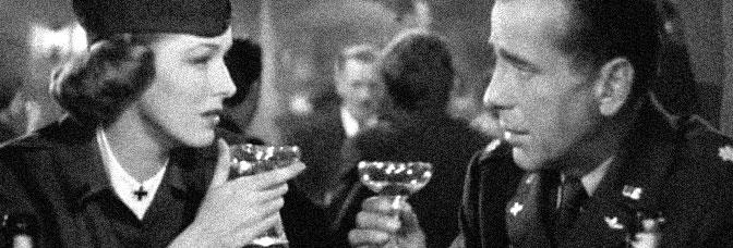 Eleanor Parker and Humphrey Bogart star in CHAIN LIGHTNING, directed by Stuart Heisler for Warner Bros.