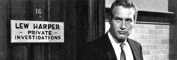 Paul Newman stars in HARPER, directed by Jack Smight for Warner Bros.