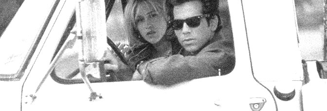 Patricia Arquette and Ben Stiller star in FLIRTING WITH DISASTER, directed by David O. Russell for Miramax Films.