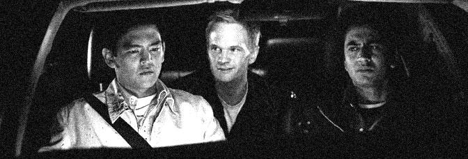 John Cho, Neil Patrick Harris, and Kal Penn star in HAROLD & KUMAR GO TO WHITE CASTLE, directed by Danny Leiner for New Lina Cinema.