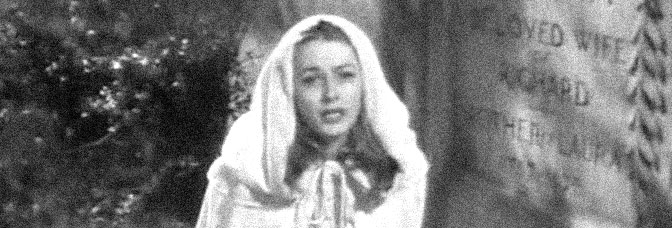 Eleanor Parker stars in THE WOMAN IN WHITE, directed by Peter Godfrey for Warner Bros.