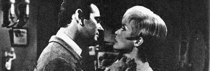 Stuart Whitman and Janet Leigh star in AN AMERICAN DREAM, directed by Robert Gist for Warner Bros.