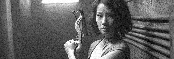 Lucy Liu stars in RISE: BLOOD HUNTER, directed by Sebastian Gutierrez for Samuel Goldwyn Films.