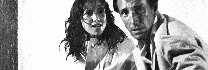 Janet Margolin and Roy Scheider star in LAST EMBRACE, directed by Jonathan Demme for United Artists.
