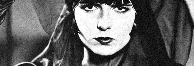 Louise Brooks stars in PANDORA'S BOX, directed by Georg Wilhelm Pabst.