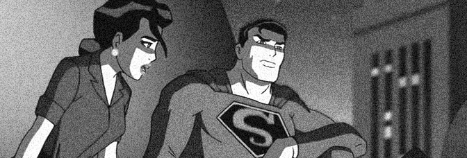 A scene from JUSTICE LEAGUE: THE NEW FRONTIER, directed by Dave Bullock for Warner Premiere.