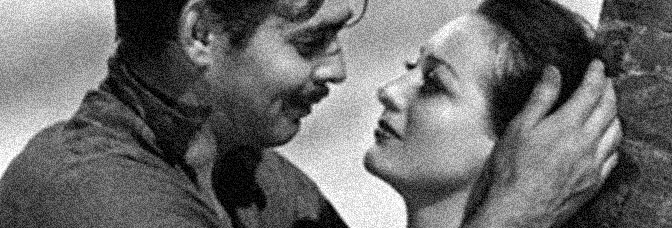 Clark Gable and Joan Crawford star in STRANGE CARGO, directed by Frank Borzage for Metro-Goldwyn-Mayer.