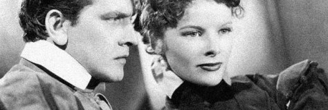 Fredric March and Katharine Hepburn star in MARY OF SCOTLAND, directed by John Ford for RKO Radio Pictures.