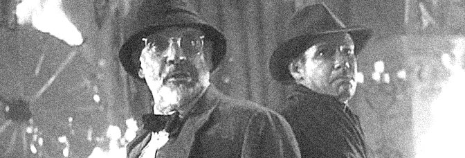 Sean Connery and Harrison Ford star in INDIANA JONES AND THE LAST CRUSADE, direcetd by Steven Spielberg for Paramount Pictures.