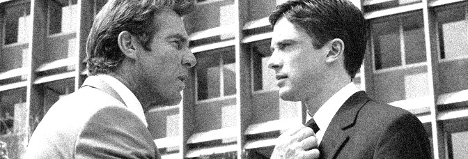 Dennis Quaid and Topher Grace star in IN GOOD COMPANY, directed by Chris Weitz for Universal Pictures.