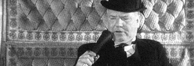 W.C. Fields stars in MILLION DOLLAR LEGS, directed by Edward F. Cline for Paramount Pictures.