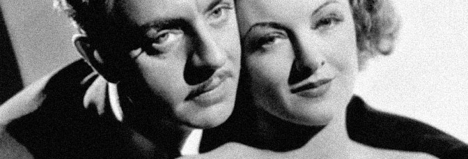 William Powell and Myrna Loy star in EVELYN PRENTICE, directed by William K. Howard for Metro-Goldwyn-Mayer.