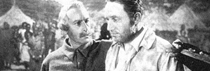 Cedric Hardwicke and Spencer Tracy star in STANLEY AND LIVINGSTONE, directed by Henry King for 20th Century Fox.