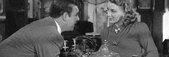 Lon Chaney Jr. and Evelyn Ankers star in THE WOLF MAN, directed by George Waggner for Universal Pictures.