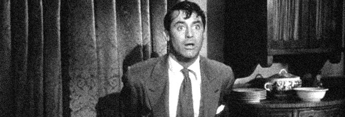 Cary Grant stars in ARSENIC AND OLD LACE, directed by Frank Capra for Warner Bros.