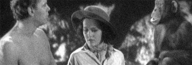 Johnny Weissmuller and Maureen O'Sullivan star in TARZAN THE APE MAN, directed by W.S. Van Dyke for Metro-Goldwyn-Mayer.