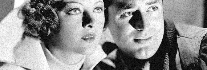 Myrna Loy and Cary Grant star in WINGS IN THE DARK, directed by James Flood for Paramount Pictures.