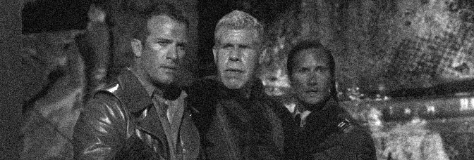 Thomas Jane, Ron Perlman, and Benno Fürmann star in MUTANT CHRONICLES, directed by Simon Hunter for Voltage Pictures.