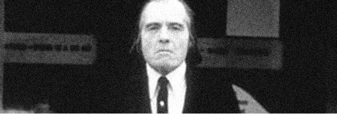 Angus Scrimm stars in PHANTASM, directed by Don Coscarelli for Embassy Pictures.