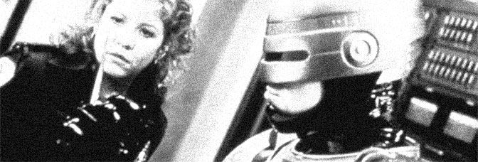 Nancy Allen and Robert John Burke star in ROBOCOP 3, directed by Fred Dekker for Orion Pictures.