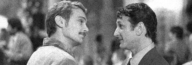 James Franco and Sean Penn star in MILK, directed by Gus Van Sant for Focus Features.