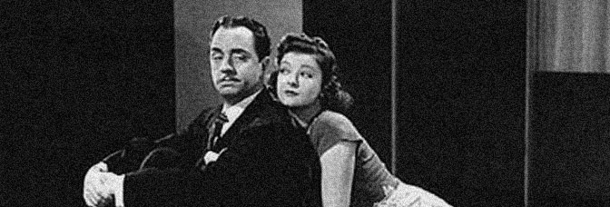 William Powell and Myrna Loy star in LOVE CRAZY, directed by Jack Conway for Metro-Goldwyn-Mayer.