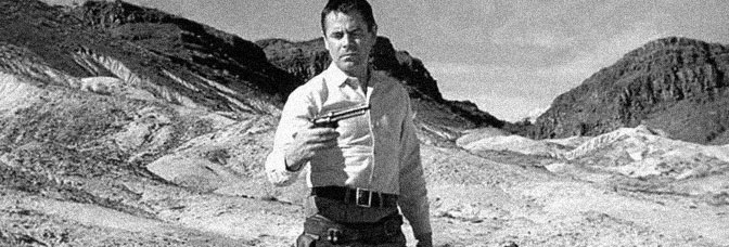 Glenn Ford stars in THE FASTEST GUN ALIVE, directed by Russell Rouse for Metro-Goldwyn-Mayer.