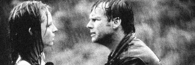 Helen Hunt and Bill Paxton star in TWISTER, directed by Jan de Bont for Warner Bros.