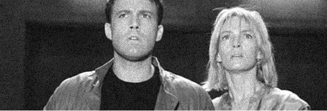 Ben Affleck and Uma Thurman star in PAYCHECK, directed by John Woo for Paramount Pictures.