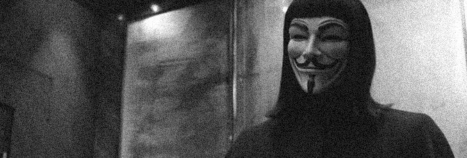 A scene from V FOR VENDETTA, directed by James McTeigue for Warner Bros.