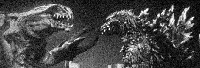 A scene from GODZILLA 2000 (Gojira ni-sen mireniamu), directed by Okawara Takao for Toho Company Ltd.