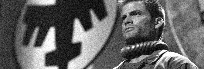 Casper Van Dien stars in STARSHIP TROOPERS 3: MARAUDER, directed by Edward Neumeier for Sony Pictures Entertainment.
