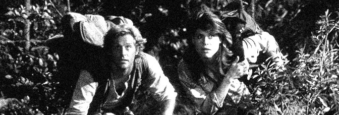 Brian Kerwin and Linda Hamilton star in KING KONG LIVES, directed by John Guillermin for De Laurentiis Entertainment Group.