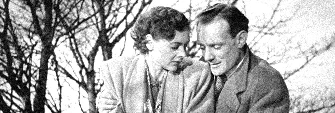 Celia Johnson and Trevor Johnson star in BRIEF ENCOUNTER, directed by David Lean for Eagle-Lion Distributors Limited.