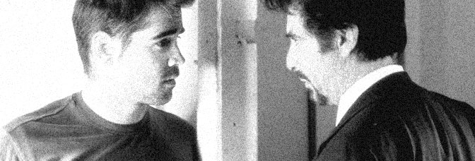 Colin Farrell and Al Pacino star in THE RECRUIT, directed by Roger Donaldson for Touchstone Pictures.