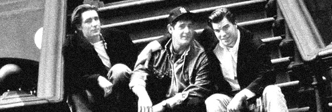 Edward Burns, Jack Mulcahy, and Mike McGlone star in THE BROTHERS MCMULLEN, directed by Edward Burns for Fox Searchlight.