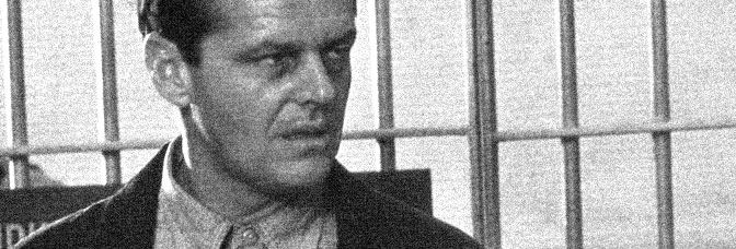 Jack Nicholson stars in THE POSTMAN ALWAYS RINGS TWICE, directed by Bob Rafelson for Paramount Pictures.
