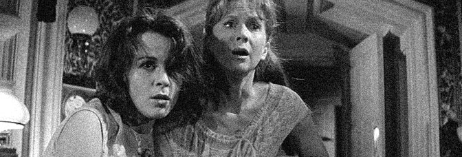 Claire Bloom and Julie Harris star in THE HAUNTING, directed by Robert Wise for Metro-Goldwyn-Mayer.