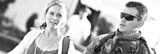 Amy Ryan and Matt Damon star in GREEN ZONE, directed by Paul Greengrass for Universal Pictures.