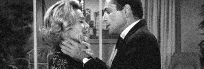 Gail Kobe and Dan Gordon star in THE SELF-IMPROVEMENT OF SALVADORE ROSS, directed by Don Siegel for CBS.