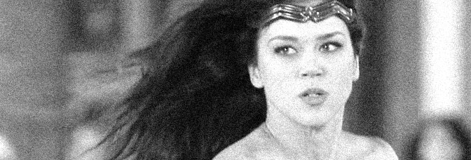 Adrianne Palicki stars in WONDER WOMAN, directed by Jeffrey Reiner for NBC.